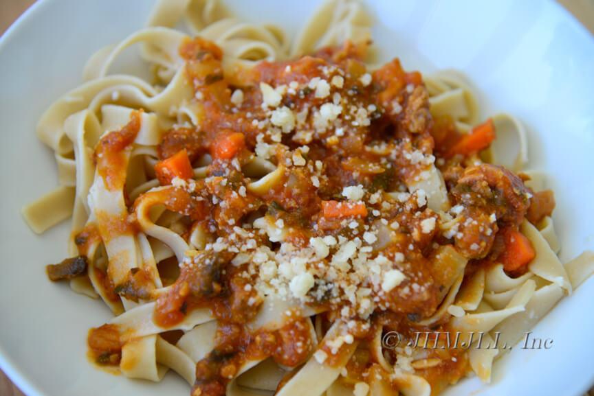 meaty tomato sauce