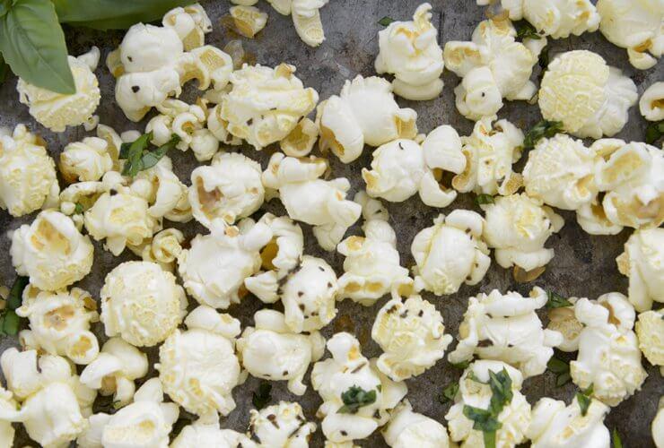 basil popcorn