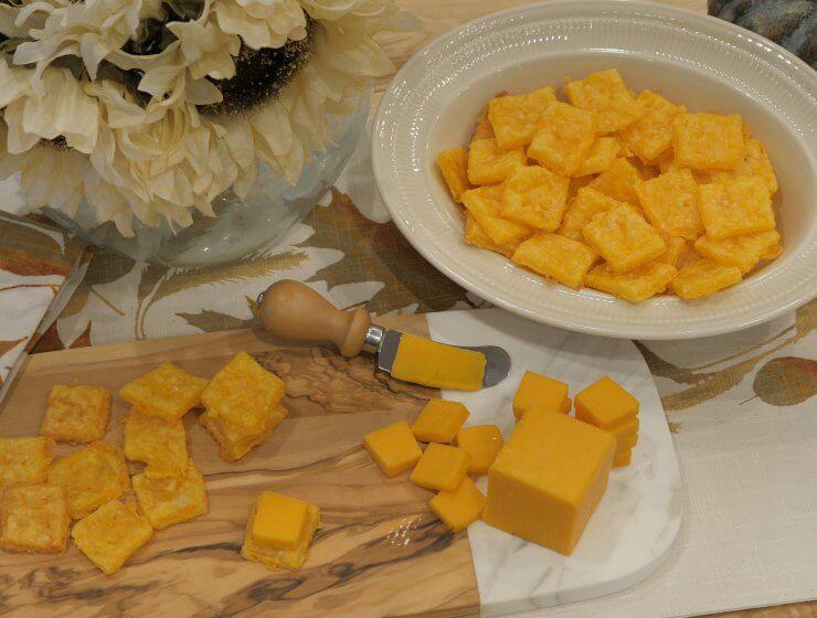 organic cheese crackers